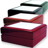 "6"" x 8"" Jewelry Box with Sublimation Tile Lid Insert"