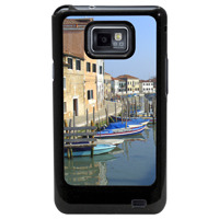 Samsung i9100 Galaxy SII Cover Decorated with Galaxy phone